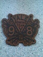 Yale University Rowing Team Leather Patch  Regatta Harvard