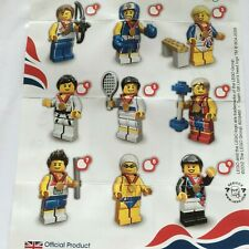 GENUINE LEGO MINIFIGURES FROM OLYMPICS SERIES  CHOOSE THE ONE YOU NEED