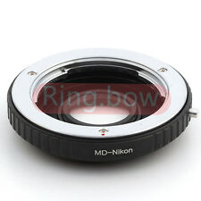 Optical Minolta MD To Nikon Lens Adapter For D750 D810 D5300 D3300 Df D610 D7100