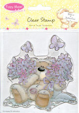 Fizzy Moon Clear Stamps Set - Blooms & Butterflies for cards and crafts