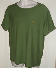 FARAH vintage LOUIS mens t-shirt  size L in forest green (FEFK0058)
