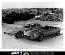 1973 Jaguar XKE V12 Convertible and Coupe Factory Photo uc1004-DFPY7E