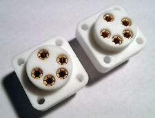 2 pcs - Custom Teflon Chassis Jack for Stax Headphones from HeadAmp