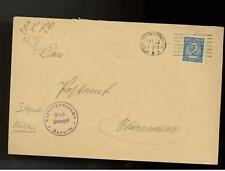 1922 Schoneberg Germany Briefstempel Cover # O12