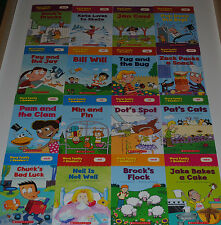 16 Word Family Phonics Readers Books Kids Kindergarten First Grade Learn to Read