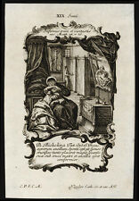 santino incisione1700 B.MICHELINA DA PESARO klauber