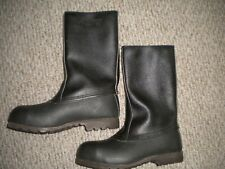 NWOBOX MEN'S THERMO STALMAN SWEDEN LEATHER BOOTS SIZE 42