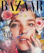 Natalia Vodianova HARPER'S BAZAAR Art Russia 2013 fashion celebrity monthly