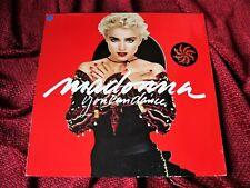 Madonna YOU CAN DANCE 1986 EU Vinyl LP w/ PROMO HYPE STICKER ATTACHED  Original
