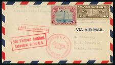 Mayfairstamps US 1920s Catapult Flight C11 Ship to Shor ia SS Bremen cover wwh43