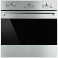 Smeg 60cm 79L Classic Thermoseal Electric Wall Oven SFA63M3TVX - New Brand