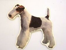 Fox Terrier Dog Breed Double sided Color Decal Car Sticker New