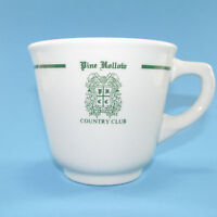 Vintage Syracuse China Pine Hollow Country Club NY Cup Mug Restaurant Ware 6 Oz