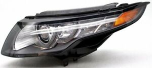 OEM Land Rover  Range Rover Evoque Left Driver Side Headlamp Upper Tab Chipped