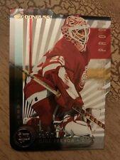 1997-98 Donruss Hockey Press Proof Gold Die Cut Mike Vernon Card /500