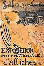 Carte postale SALON DES CENT