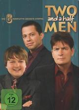 Two and a half Men  Die komplette sechste Staffel ( Season 6 ) DVD Charlie Sheen