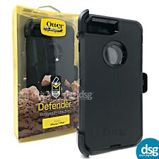 OTTERBOX DEFENDER COVER CASE FOR APPLE IPHONE 7/8 PLUS 7+ 8+ HOLSTER BLACK