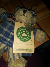 The Boyds Collection Plush Bear - Cappuccino Frenzy (Americana Ornament)