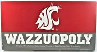 WAZZUOPOLY! WSU Cougars Monopoly Board Game! Washington State University Pullman