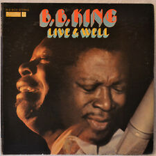 BB B.B. King Live and Well ORIGINAL ST LP EX/NM Vinyl InnSlv Blues Don't Answer