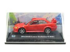 Cararama Hongwell Mitsubishi Lancer Evolution VI WRC Red 1 72 Scale Boxed