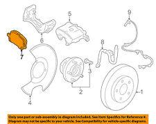 GM OEM Brake-Front-Brake Pads 23316342
