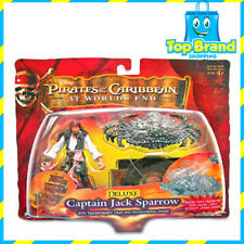 PIRATES OF THE CARIBBEAN DELUX PACK captain jack sparrow with transforming crab