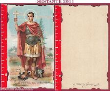 2666 SANTINO HOLY CARD SAN S. ESPEDITO EXPEDITO MARTIRE