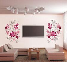 BRICOLAJE Extraíble Grande Flores Rosas Vid Pared Pegatina Vinilo Adhesivo Mural
