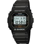 CASIO DW5600E-1V Mens Classic GSHOCK Black Resin Digital Chronograph Sport Watch