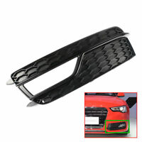 Left Front  Bumper Grill Fog Light Cover  For AUDI A5  S-LINE 2013-2015