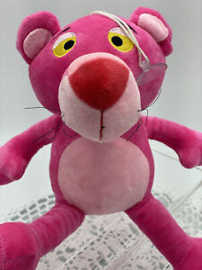 Pink Panther Plush Toy, Stick Around, 20cm Tall