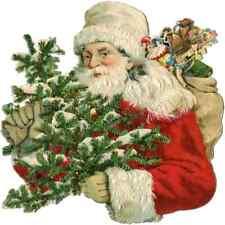 30 Custom Christmas Time Santa Personalized Address Labels
