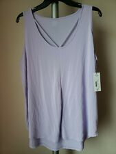 fa3924c61af LADIES PURPLE KNIT TANK TOP BY ANA - SIZE XL - NEW WITH TAGS MSRP  29