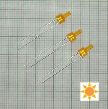 10 Stück Blink Led 2mm Orange diffus (Blinklicht, flash)+ Widerstand - E147f