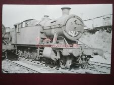 PHOTO  GWR LOCO NO 4247 AT CARDIFF (E DOCKS) 3/9/64