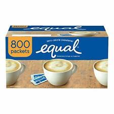 Equal Zero Calorie Non sugar Sweetener 800 Count Single Serve Packets Delicious