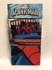 "Marvel's Spiderman Standard 20""x30"" Reversible Pillowcase NEW!"