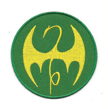 Marvel Comics Iron Fist TV Series Dragon Chest Logo Embroidered Patch NEW UNUSED