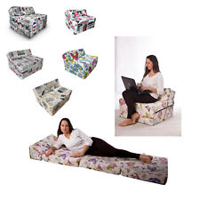 Colchón plegable de espuma cama invitados futon sillón adultos 200 x 70 cm FL