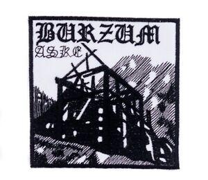 1Burzum Aske Album Cover Patch Dark Ambient Black Metal Band