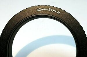 52mm Macro Close-Up Reverse Lens Adapter Ring For Canon EOS R Cameras RF mount