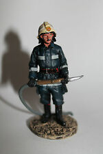 Del Prado Zinnfigur; Fireman, firedress, Sarajevo, Bosnia, 2003