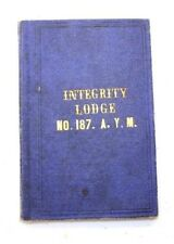 GRAND LODGE OF PENNSYLVANIA Integrity Lodge, No. 187
