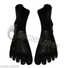 LATEX BLACK TOE SOCKS GUM SHINY STRONG FEET FOOT FETISH RUBBER ADULT DOLL BODY