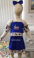 Girls National Pageant Christmas Winter Casual Wear OOC Outfit Sz 12M RPD NEW