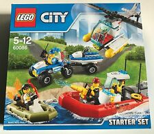 LEGO City Police 60086 LEGO City Starter Set - hard to find - BRAND NEW retired