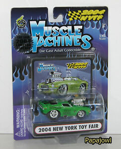 Muscle Machines NYTF 1971 Camaro 71 Chevy 1 Of 1492 2004 New York Toy Fair a