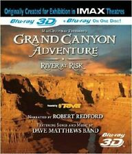 IMAX - Grand Canyon Adventure 3D plus River At Risk - Blu-ray UK